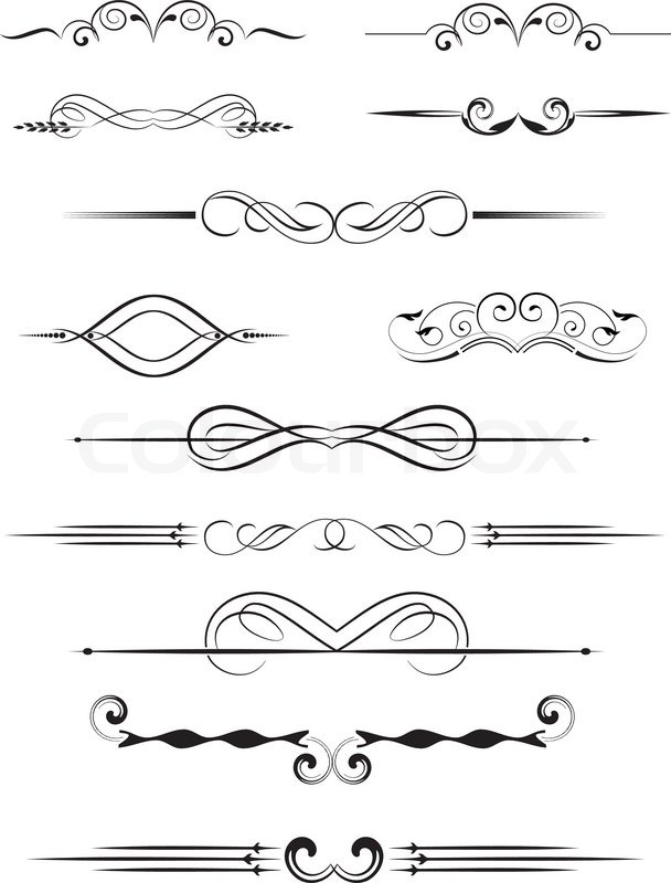 Hand Lettering Borders Doodle Frames