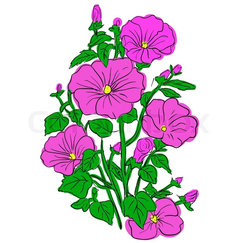 Gallery For gt Beautiful Cartoon Flowers