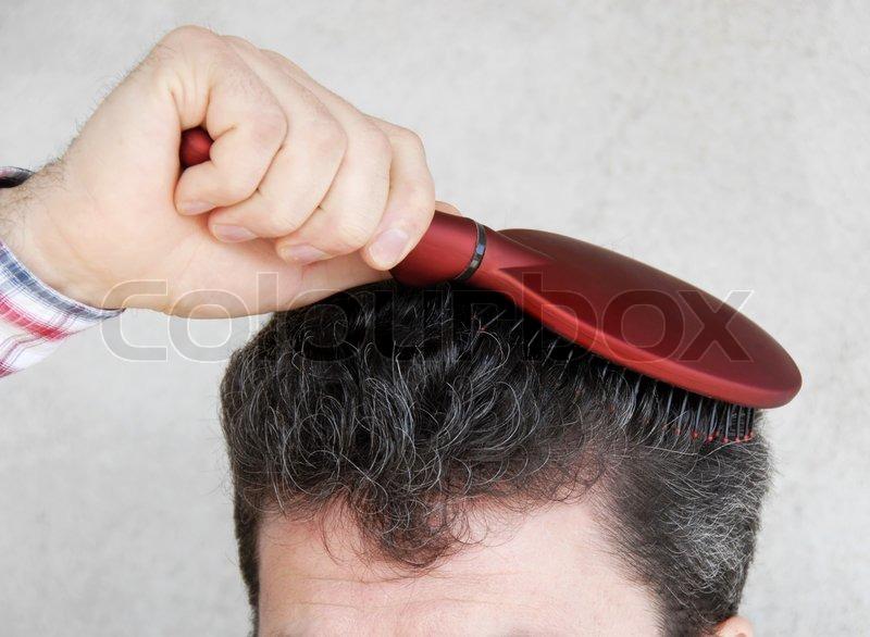 hårbørste til mænd