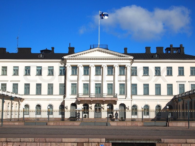 Presidential Palace in Helsinki | Stock Photo | Colourbox