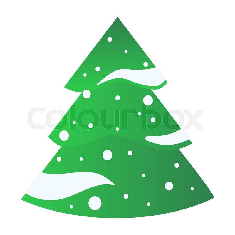 Christmas Tree Icons.Christmas Tree Icons Set Christmas Stock Vector