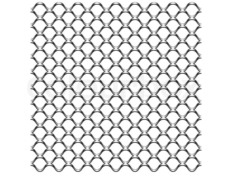 Chain link fence texture | Stock Vector | Colourbox