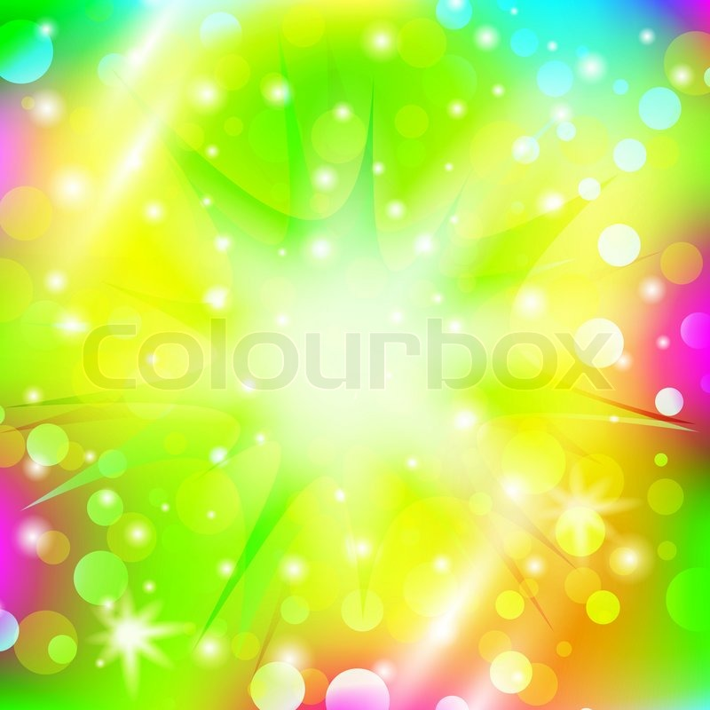 Stock image of 'Abstract explosion over multicolored bright holiday background'
