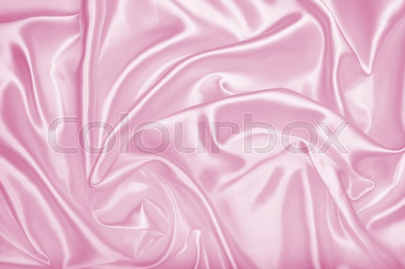 Smooth elegant pink silk or satin texture can use as background, stock photo