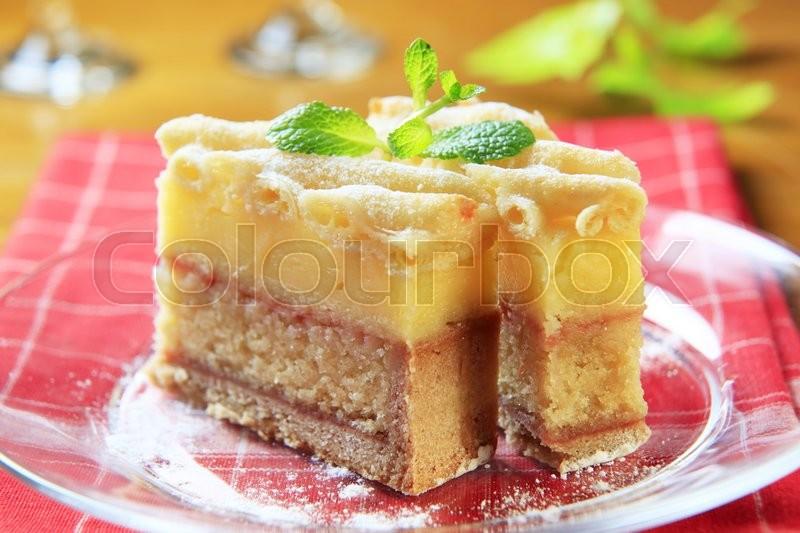 Rum Soaked Sponge Cake