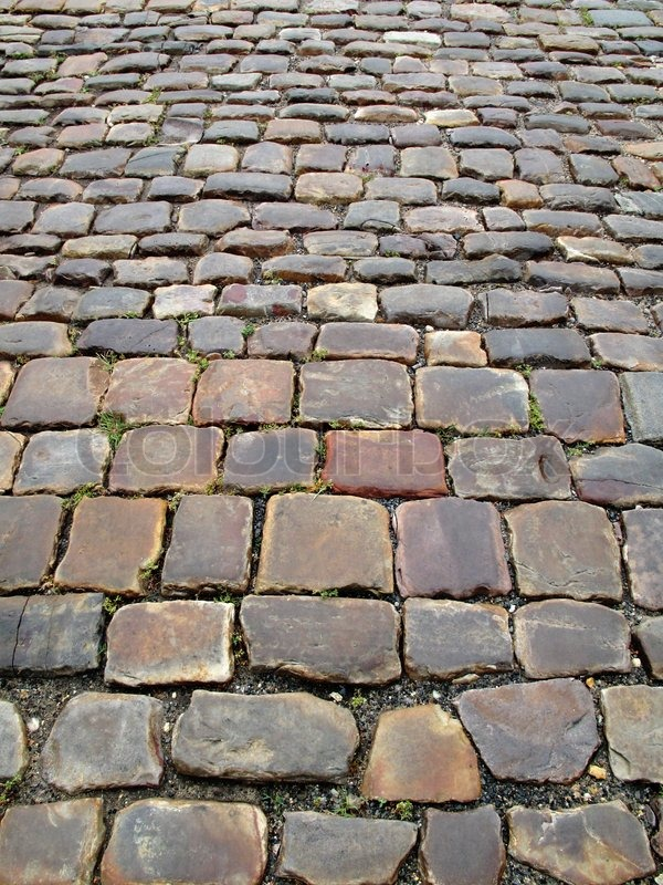Cobblestone Texture Stock Photo Colourbox