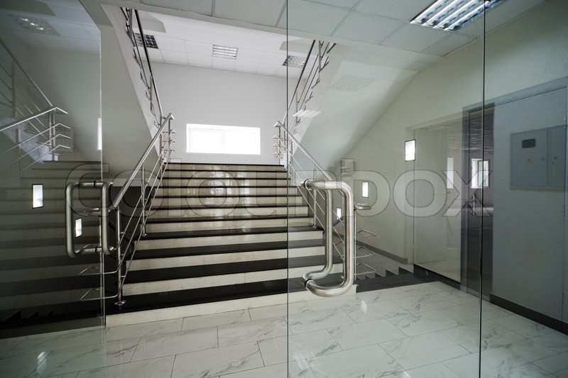 Glass door safety gallery glass door design glass doors with a kind on a marble staircase stock photo glass doors with a kind planetlyrics Gallery