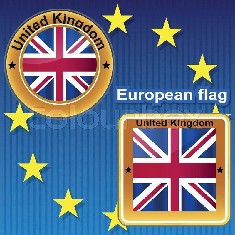 Fahne, Kontinente, Erdkunde