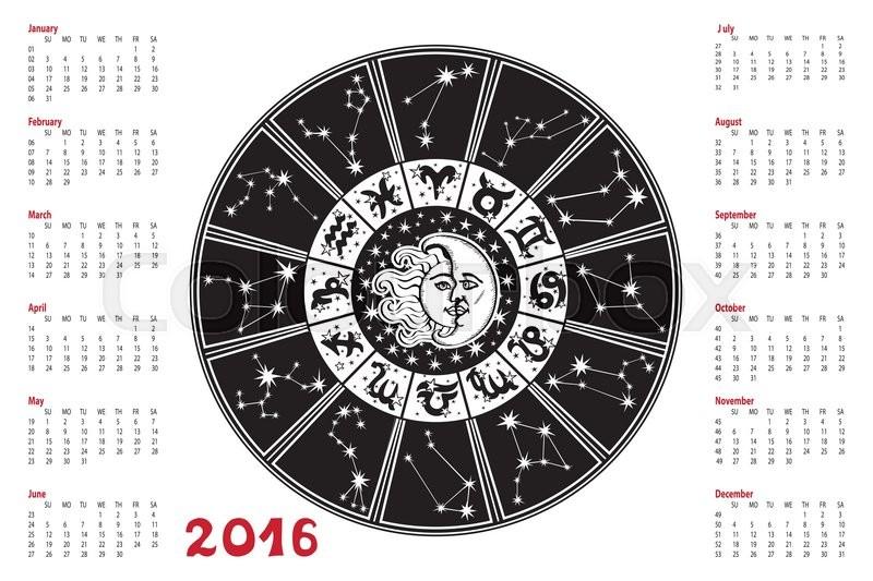 sun calendar