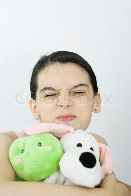 teen girls Stuffed