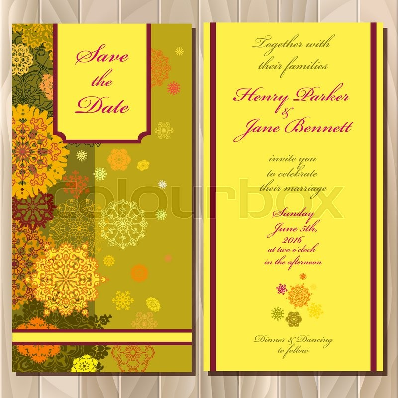 Snowflakes wedding invitation card save date text pistachio khaki stock vector of snowflakes wedding invitation card save date text pistachio khaki stopboris Images