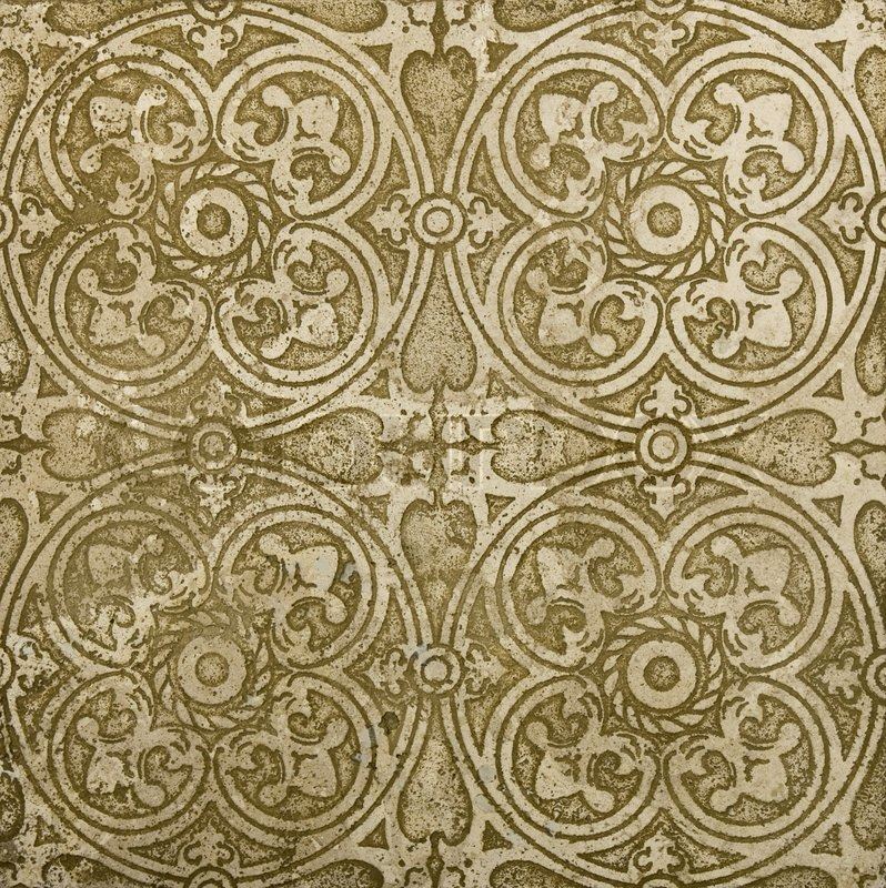 Ornamental Old East Tile Classic Travertine Marble