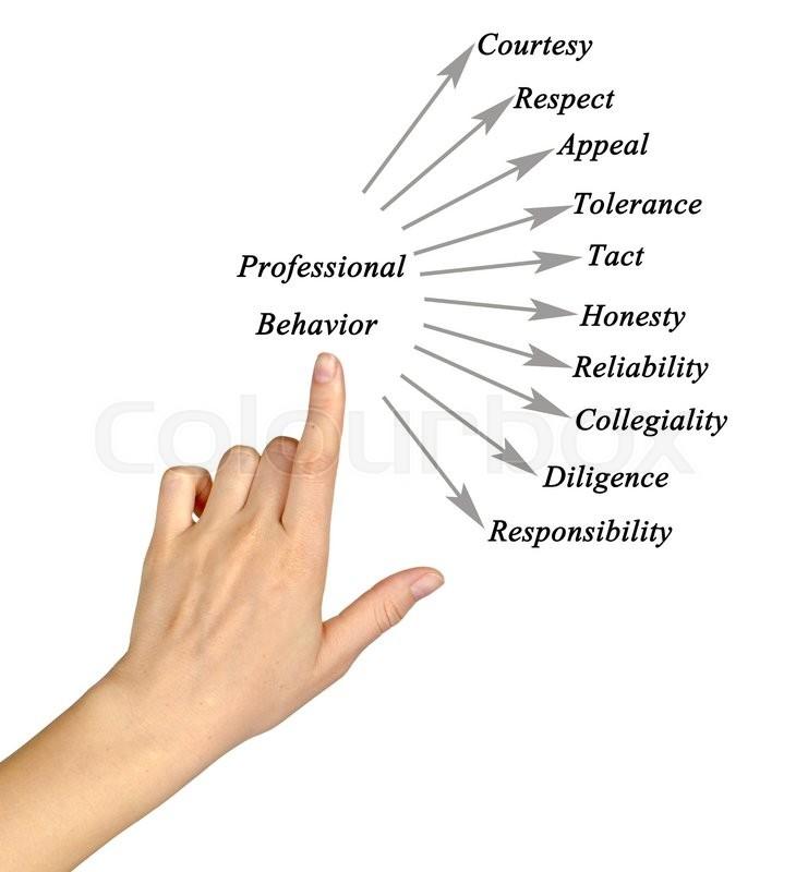 Ethics Professional Responsibility: Diagram Of Professional Behavior