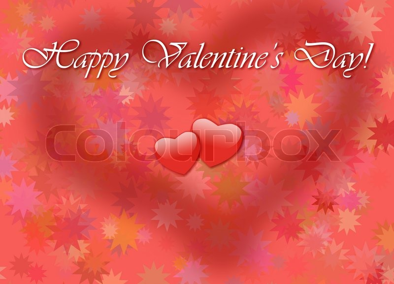 happy valentinstag card stockfoto colourbox. Black Bedroom Furniture Sets. Home Design Ideas