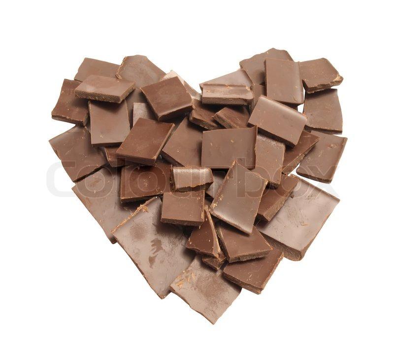 Herz Aus Schokolade