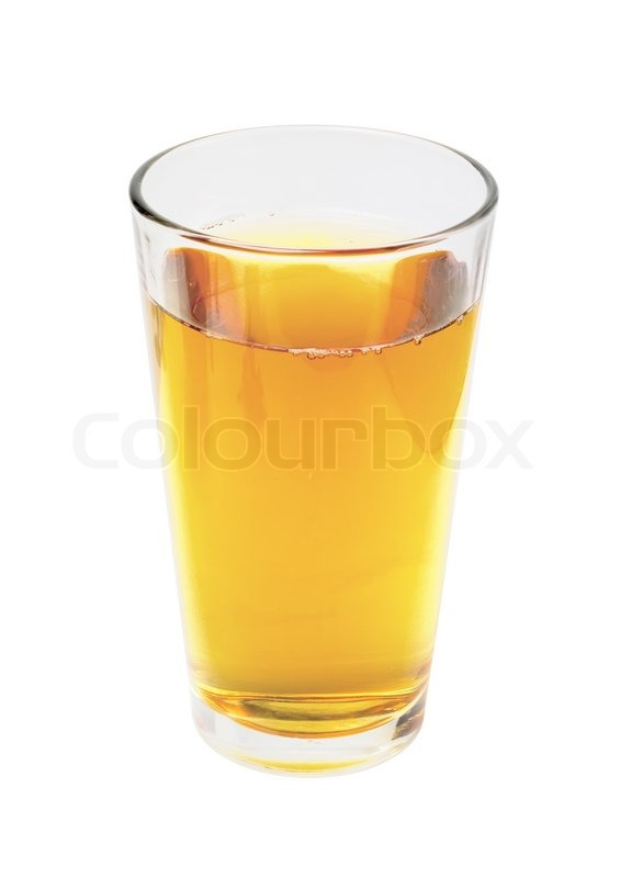 Glass of apple juice isolated on white ...   Stock image ...