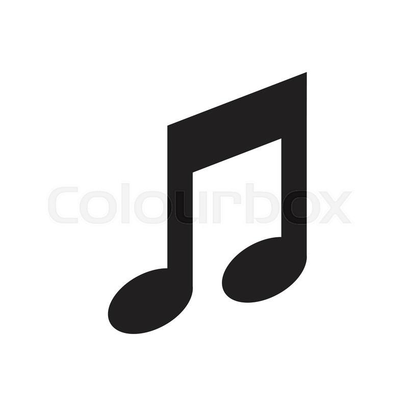Music note icon vector stock vector colourbox music note icon vector vector thecheapjerseys Images