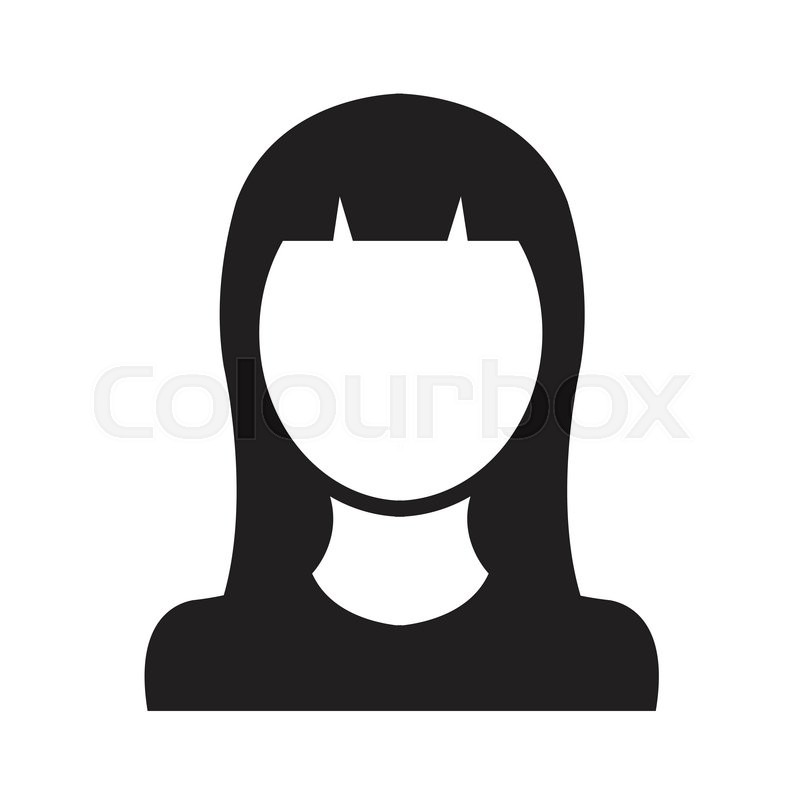 Person Symbol Human Avatar Stock Vector Colourbox