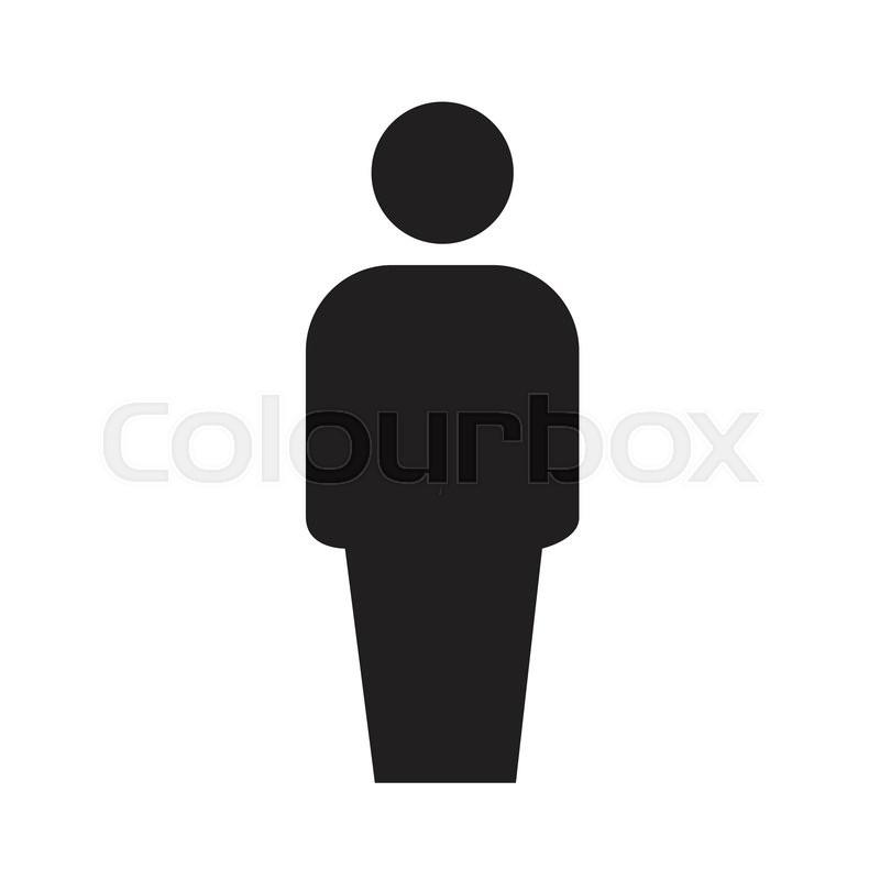 Human icon | Stock vector | Colourbox