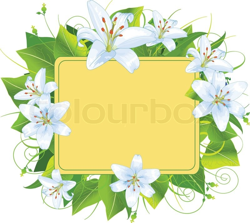 Easter frame, perfect for greeting cards or retail signage | Stock ...