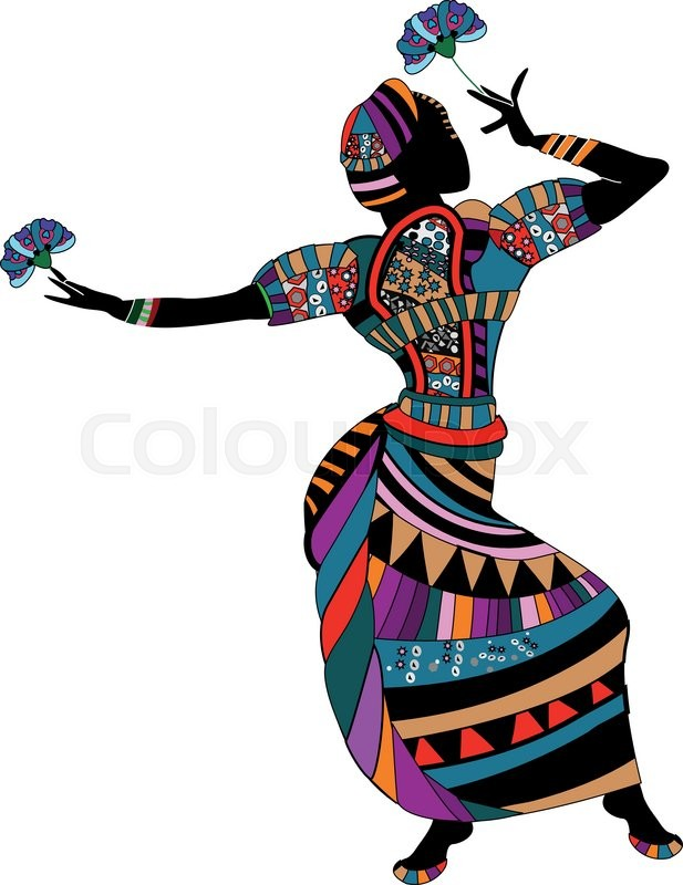 zulu dancer coloring pages - photo#48