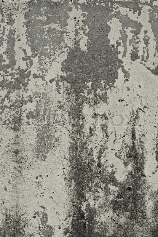 Texture Of The Old Wall Of Concrete With Peeling Paint Stock Photo Colourbox