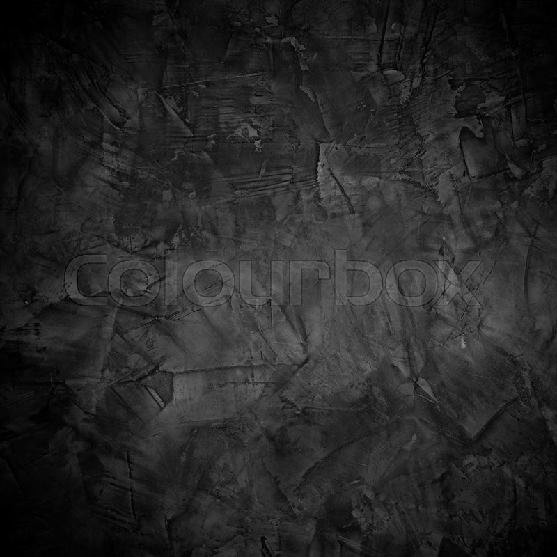 Abstract Dark Cement Texture Background Stock Image
