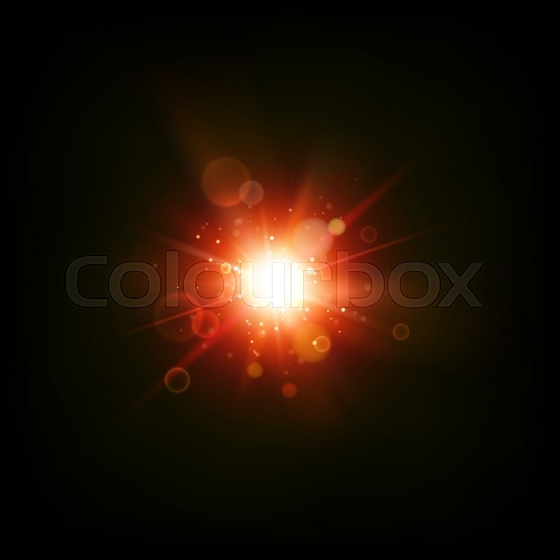 Flash Abstract Background. Abstract Shining Space