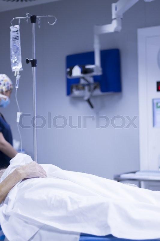 Hospital Surgery Emergency Operating Stock Image Colourbox