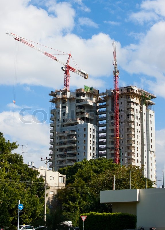 Construction Of High Rise Residential Building In The