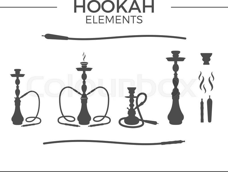 Hookah Vector