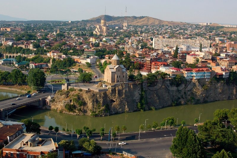4561d9769 Old city in Tbilisi