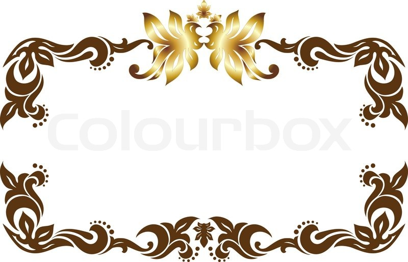 Fantastisch Stock Vector Of U0027frame, Modern, Borderu0027