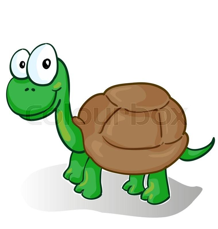 Skilt milj karikatur stock vektor colourbox - Clipart tortue ...