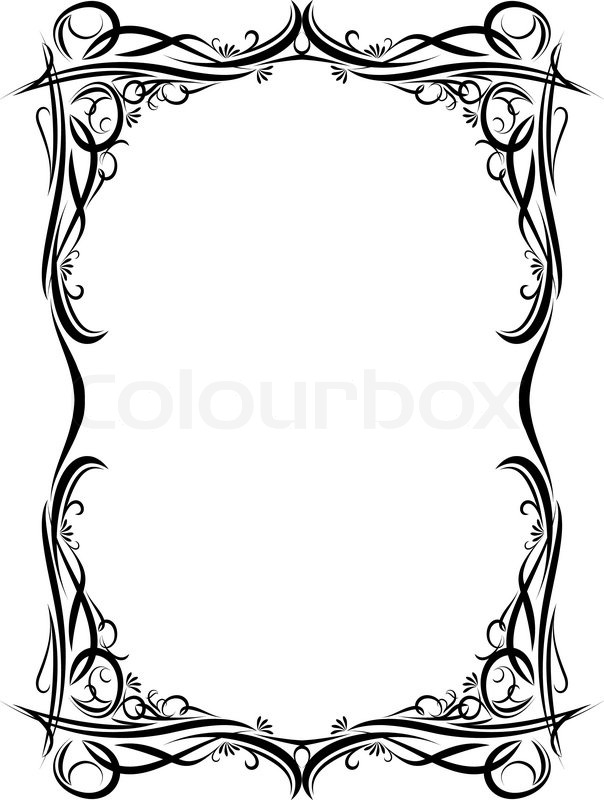 Stock Vector Of Gothic Paper Style