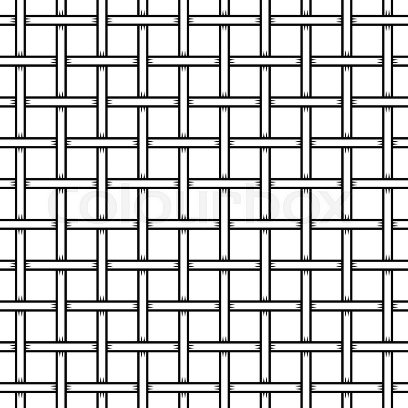 Seamless Cage Texture Wire Mesh Vector Illustration