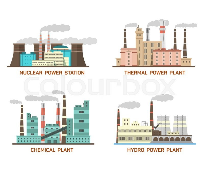 a comparison of the thermal and hydroelectric power plants The most common types of nuclear power plants use water for cooling in two  ways  apart from size, any differences between plants is due to thermal  efficiency,.