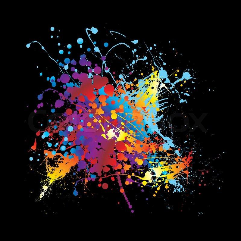 Splatter Paint Room