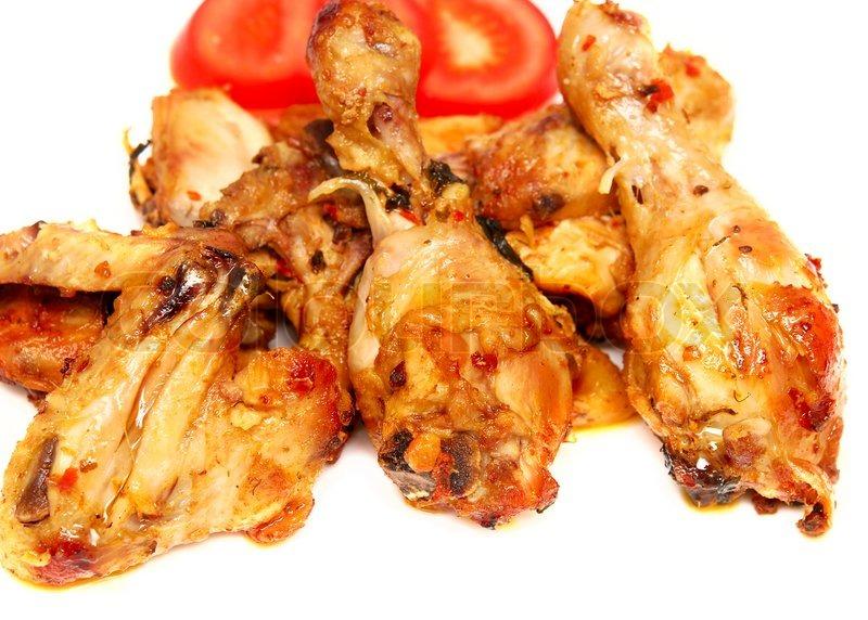 Жареная курица на сковороде с фото кусочками