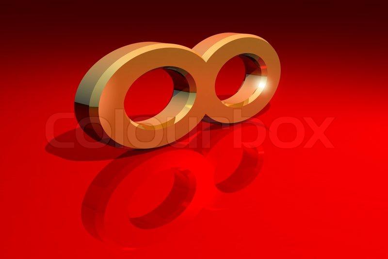 Infinity Symbol Stock Photo Colourbox