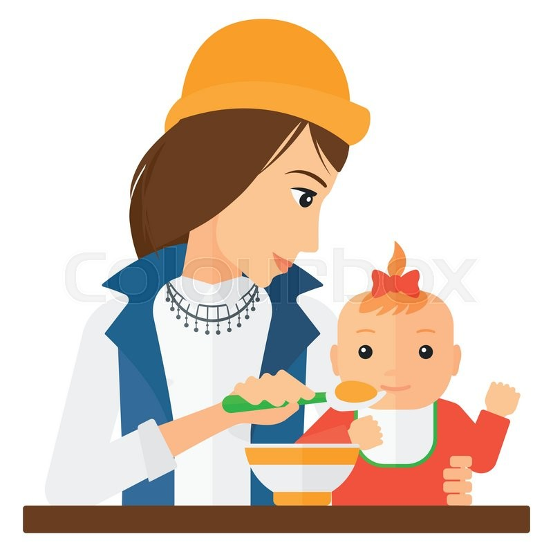 how to get baby to eat from spoon