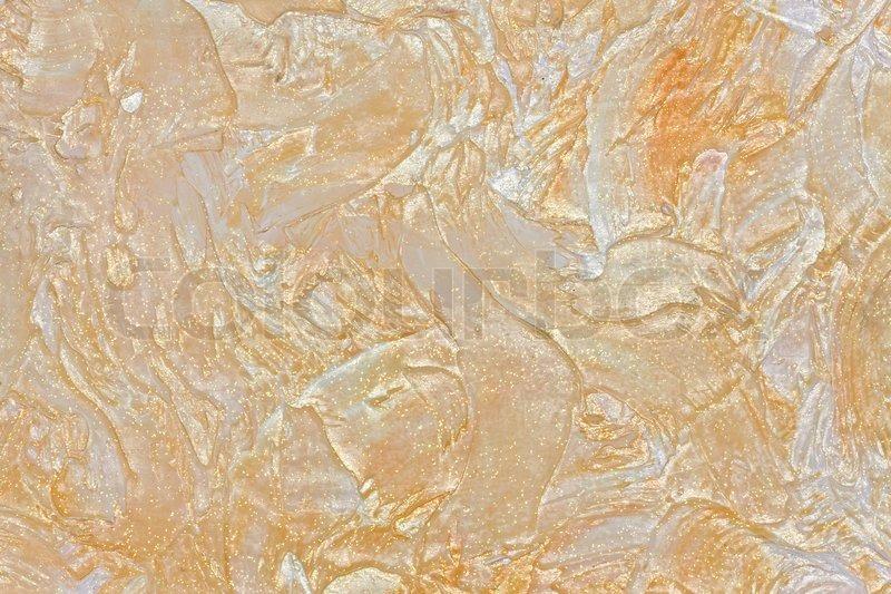 gro e textur der wand gemalt beige mit glanz und glitzer stock foto colourbox. Black Bedroom Furniture Sets. Home Design Ideas