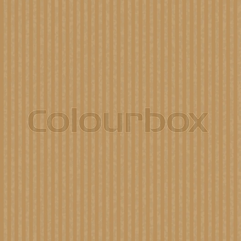 Kraft Recycled Corrugated Paper Texture Vector Seamless Craft Paper