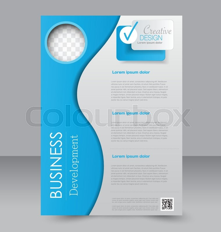 Brochure Template Business Flyer Editable A4 Poster For Design
