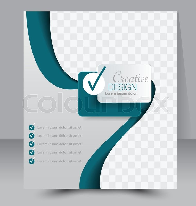 Brochure Template Business Flyer Editable A Poster For Design - Editable brochure templates