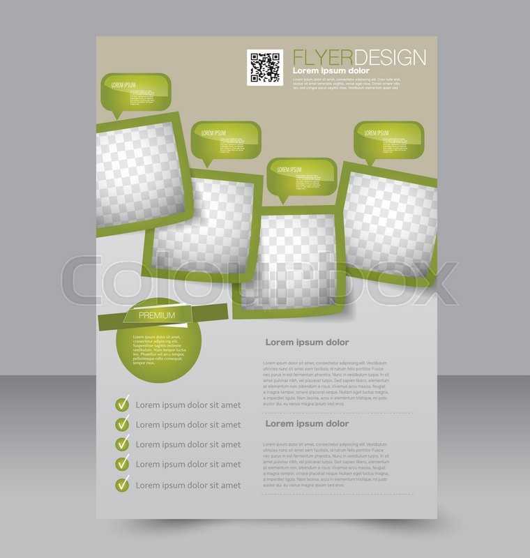 Flyer Template Brochure Design Editable A Poster For Business
