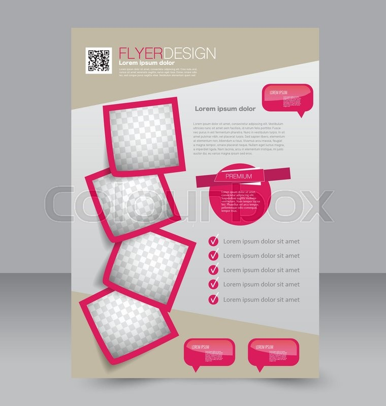 Flyer Template Brochure Design