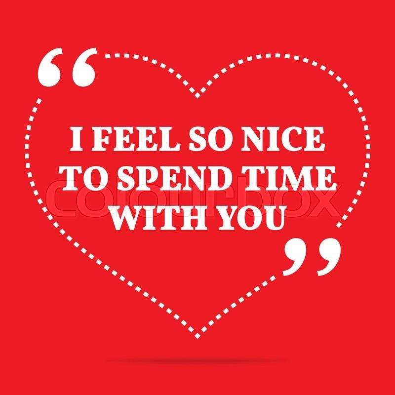 Inspirational Love Quote I Feel So Stock Vector Colourbox