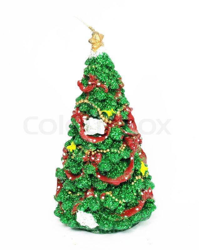bild von weihnachten tannenbaum mit roten und goldenen. Black Bedroom Furniture Sets. Home Design Ideas