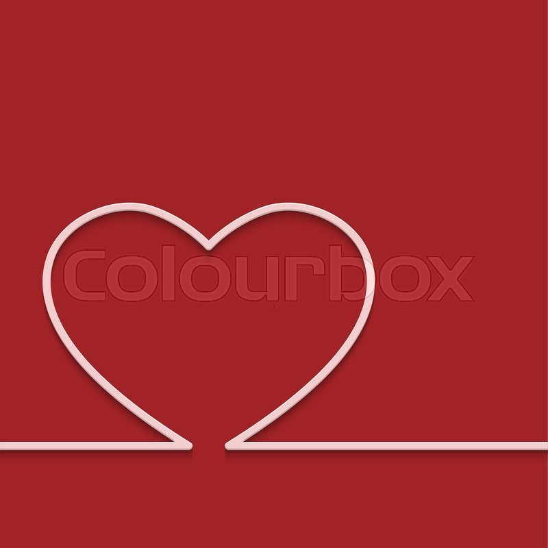 Stock image of 'Modern red valentines day or 8 march background'